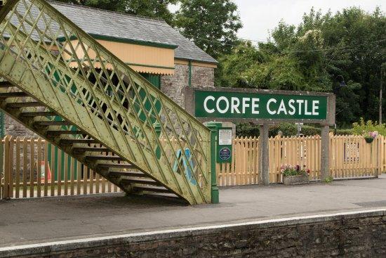 Swanage, UK: Corfe Castle Train Station