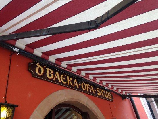 Restaurant D'Baecka Ofa Stub: Restaurant