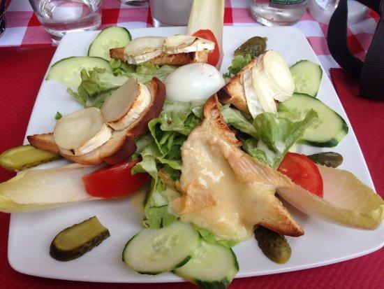 Restaurant D'Baecka Ofa Stub: Salade Repas