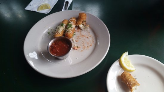Wake Forest, NC: The mozzarella sticks (there are four in an order).