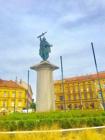 Znojmo, Republika Czeska: Denkmal