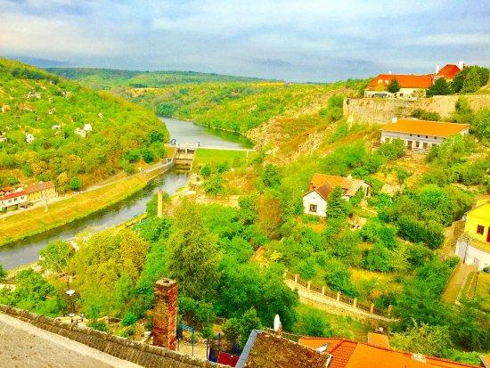 Znojmo, Republika Czeska: Blick auf die Thaya
