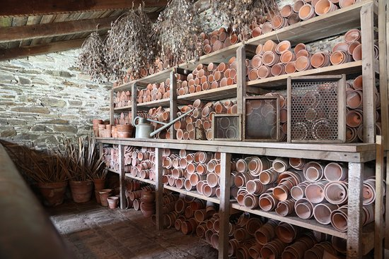 The Lost Gardens of Heligan: Potting shed