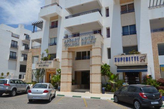 Golden beach appart hotel 3 5 for Appart hotel 78