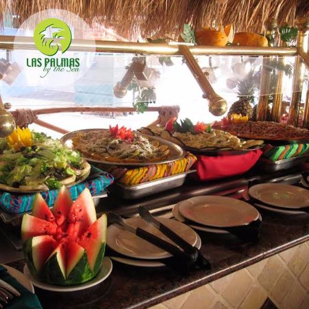 Las Palmas by the Sea: Restaurante Aires del Mar