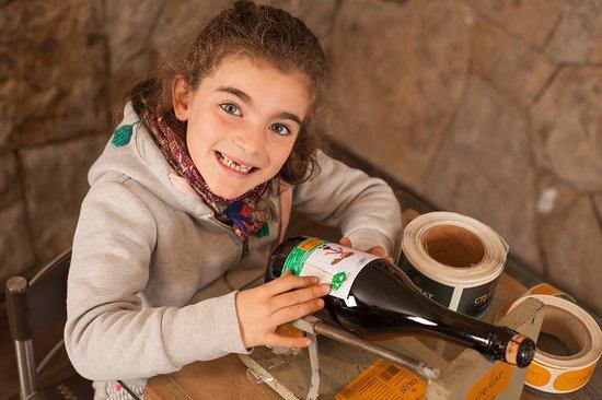 Lujan de Cuyo, Arjantin: Programa familiar, tus niños diseñan y etiquetan una botella