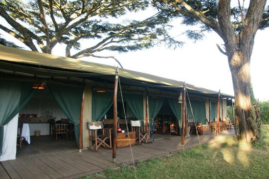 Lemala Ngorongoro Tented Camp: Reception und Essraum