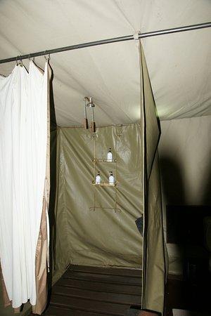 Lemala Ngorongoro Tented Camp: Die Dusche