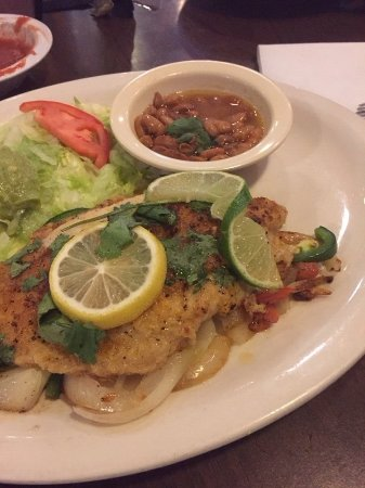 San Angelo, تكساس: grilled fish