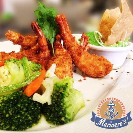 Marinero's: Camarones empanizados/ Fried shrimps