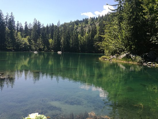 Passy, France: Le lac vert