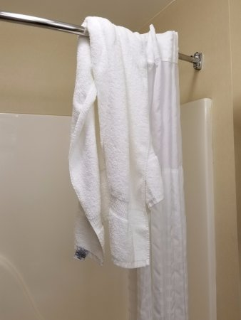 Wixom, MI: Previous guest bath towel
