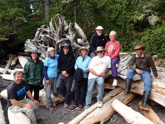 Telegraph Cove, Canada: North Broughton Trip Group Picture