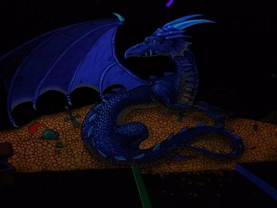 Dragons Lair Mini Golf: bien fait