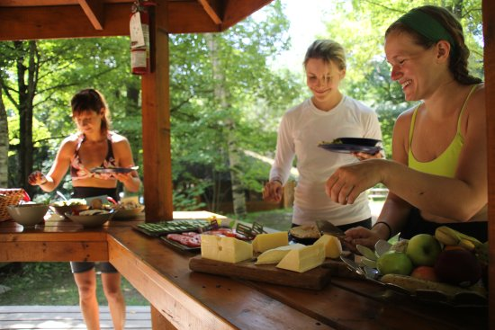Barry's Bay, Canada: Feeding our hungry paddlers is one of our specialties!