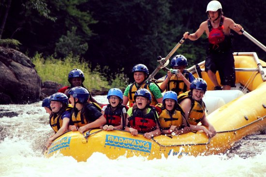 We offer 2 hour raft trips to visitors of the Barry's Bay area. Mon-Thurs, mid-June to August
