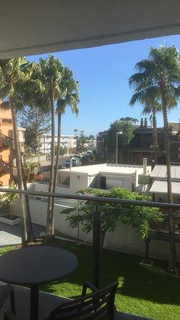 Apartamentos El Palmar: View from balcony of room