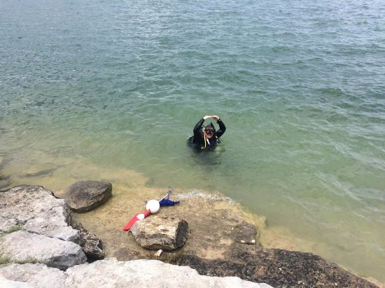 """Uvalde, TX: This diver is """"OK"""" in Canyon Lake (New Braunfels, TX)"""