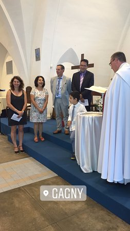 Gagny, Frankreich: cousin's baptism