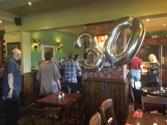 Witney, UK: 30th birthday party buffet at The Windrush Inn