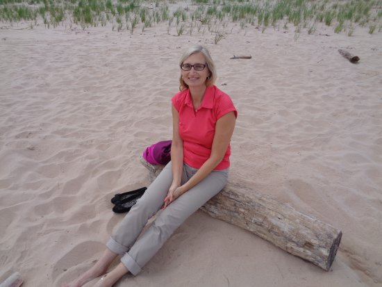 Souris, Canada: Magical sands! A ways up the bech from the local crowds.