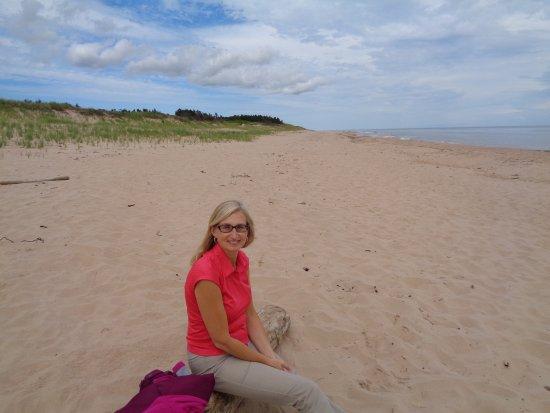 Souris, Canada: Singing Sands! Quiet spot.