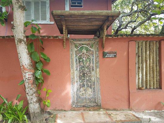 Caraiva, BA: Fachada de uma casa