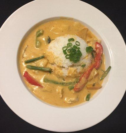 Braunton, UK: Thai red for lunch?