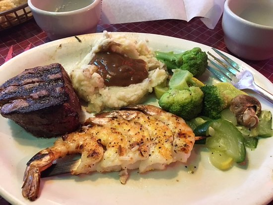 Roanoke Rapids, NC: Filet Mignon and Shrimp