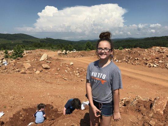 Jessieville, AR: Digging area