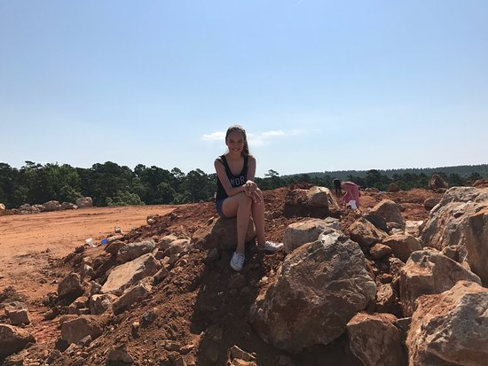 Jessieville, Арканзас: Digging area