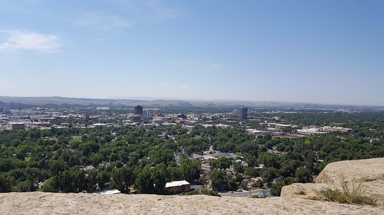 Awesome views of Billings