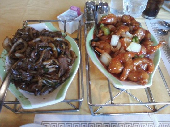 Panda House Chinese Restaurant: Mandarin Dinner For Two (main entrees)