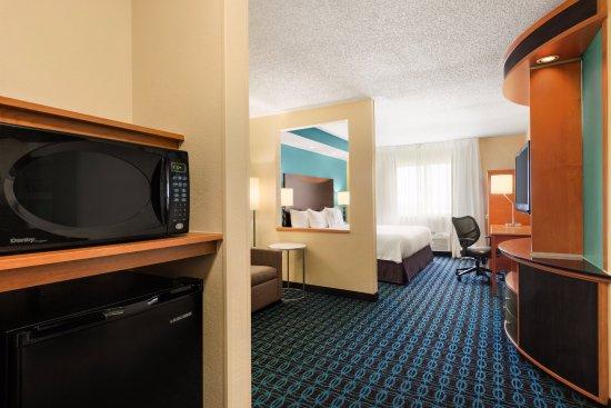 Fairfield Inn & Suites Oklahoma City Quail Springs/South Edmond: Executive King Suite