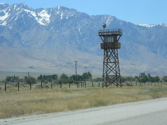 Independence, CA: One of the guard towers