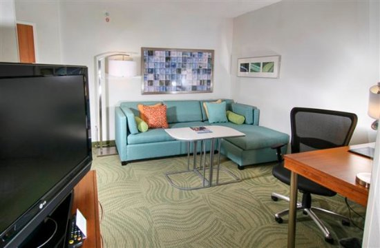 SpringHill Suites by Marriott Chesapeake Greenbrier: Suite Sitting Area