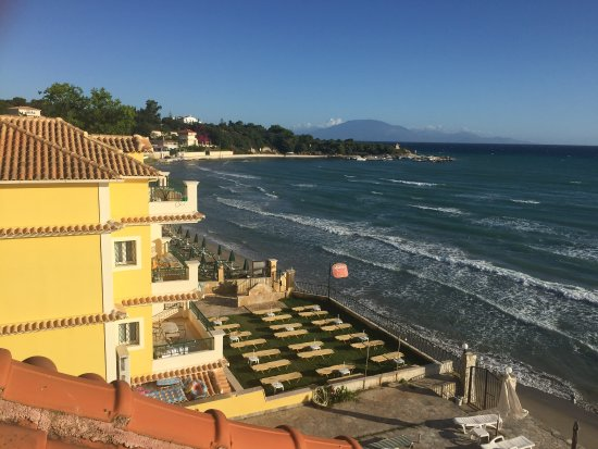 Tsilivi Beach Hotel: View from the room