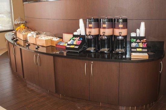 Chesapeake, VA: Coffee station