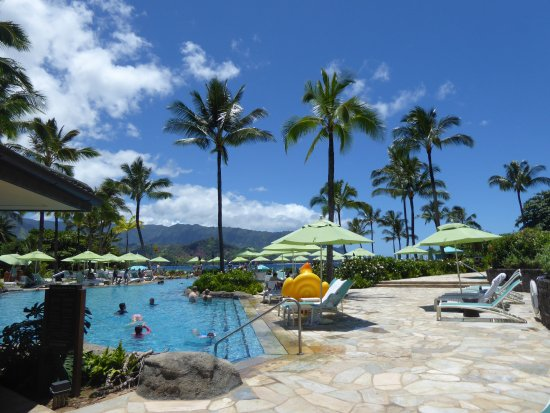 Nalu Kai Grill and Bar: Poolside at the St. Regis, Princeville Hawaii