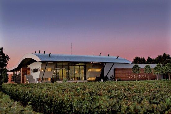 Santa Cruz, Chile: Viña Estampa, modern built winery