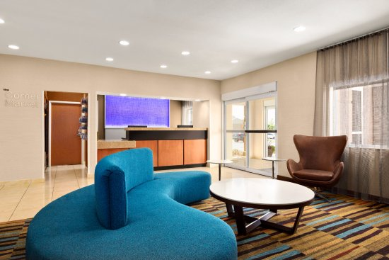 Fairfield Inn & Suites Oklahoma City Quail Springs/South Edmond: Lobby Seating Area