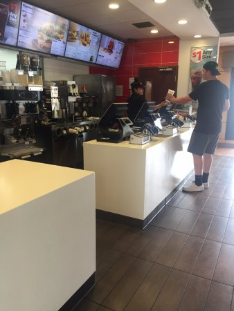 Commerce, CA: Ordering Counter