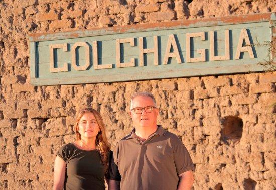 Santa Cruz, Chile: Winemakers team: Johana Pereira and Attiglio Pagli