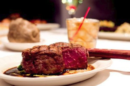 Crystal Lake, IL: We hand cut all of our steaks and cook to order.