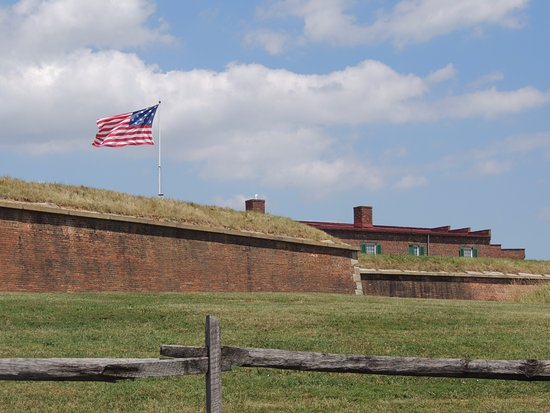 Fort McHenry National Monument: The ramparts that Key writes about in his poem that became our national anthem.