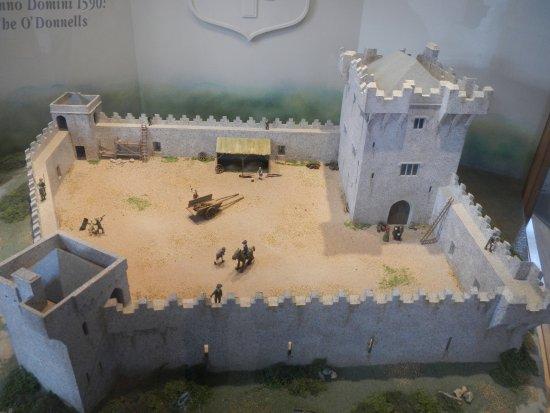 Donegal, Irlandia: Castle mock up