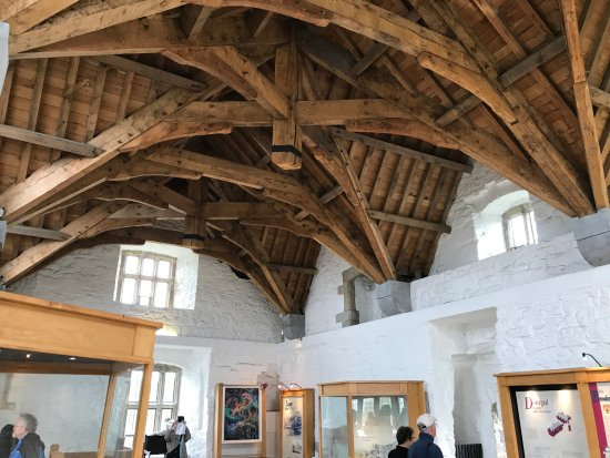 Donegal, Irlandia: Preserved room ceiling