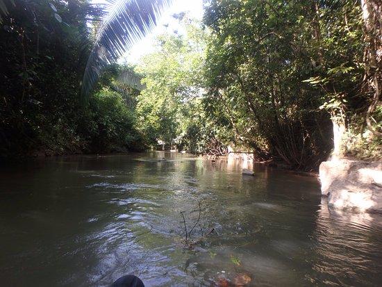 Belmopan, بليز: View down the river