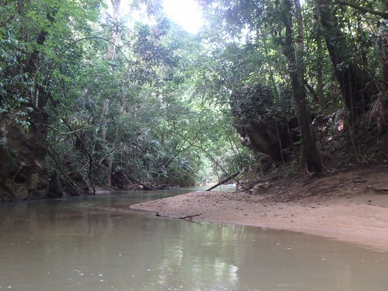 Belmopan, بليز: part of the river