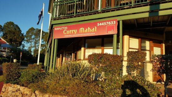Mapleton, Australien: The front of the restaurant